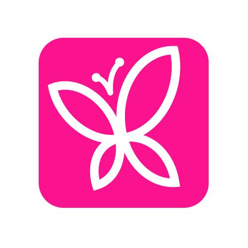 Kozmetický kufrík Lash Organizer - ružový
