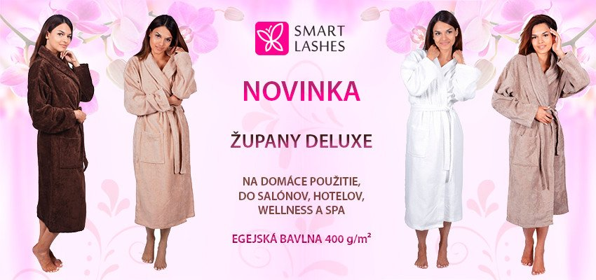 Župany Smart Lashes DELUXE