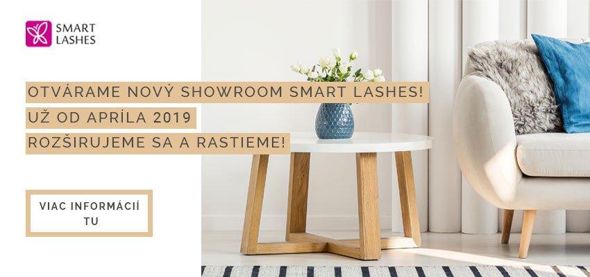 Nový showroom Smart Lashes